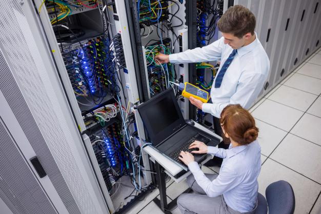 построение серверных помещений